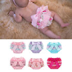 Внешний вид - Baby Girl Lace Ruffle Bloomers Panty Tulle Shorts Diaper Nappy Cover Pants 3-24M