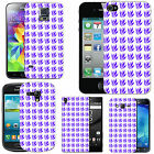 Motif case cover for Mobile Phones -   blue grass pattern