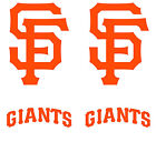 "4 San Francisco Giants SF Cornhole Decals LARGE 16x11.5"" Bag Toss Baggo Stickers on Ebay"
