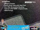 Car Mats Vw Beetle To 1999 - 2005 / Golf Mk4 4 Clips Tailored  Rubber Carpet