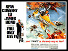 You Only Live Twice FRIDGE MAGNET 6x8 James Bond Magnetic Movie Poster $13.64 CAD