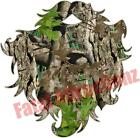 Camo Beard Vinyl Sticker Decal hunting hair redneck woodsman