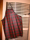 AUTHENTIC TARTAN OILCLOTH &/OR MEDIUM WEIGHT REG TARTAN APRONS - CHILDS/ADULTS
