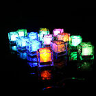Water Sensor LED Glow Ice Cubes Novelty Sparkling Light Lamps for Wedding Party