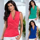 Women's Summer Vest Top Sleeveless Blouse Sexy Casual Tank Tops T-Shirt Fashion
