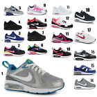 Kids Nike Air Max Leather Trainer Sports Running School Shoes Sizes 10 - 2.5