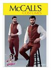 PATTERN McCALLS Mudoch Edwardian Vest Tapered Pants 38 to 52 Men's 7399