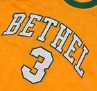 ALLEN IVERSON BETHEL HIGH SCHOOL JERSEY Yellow NEW ANY SIZE