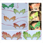 SALE Poison Ivy Costume Mask ALL IN ONE Glittery Cosplay UMA Therman TIE ON
