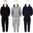 Boys Plain Jogging Trousers  Childrens Tracksuit Bottoms Hooded Tops Hoodie
