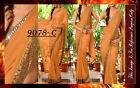 Bollywood Inspired - Party Wear Orange Sequence Work Saree - 9078-C