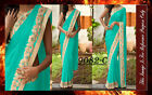 Bollywood Inspired - Designer Blue Party Wear Saree - 9082-C