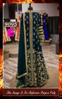 Bollywood Replica - Wedding Wear Blue Slit Anarkali Suit - 9095-E