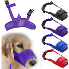 Dog Pet Safety Breathable Muzzle Stop Biting Barking Nipping Chewing Adjustable