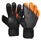 Professional Adult Thick Latex Soccer Goalkeeper Glove Goalie Finger Protection