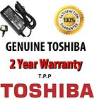NEW Genuine Toshiba Satelite Notebook Laptop AC Adapter Battery Charger