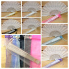 Внешний вид - 24pc Sparkle Organza Bags (Fans not Included) for Hand Fan / Bags Only