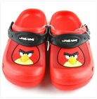 Angry Birds Rubber Sandals Children Kids size 11-15