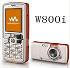 W800 Sony Ericsson Unlocked W800i 3G TFT Screen LCD Bluetooth Mobile Phone, used for sale  China