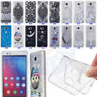 For Huawei Honor 5X Henna Butterfly Flowers Bear Wave Side Antiskid Rubber Case
