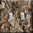 TREE CAMO CAMOUFLAGE  LIGHT SWITCH COVER PLATE  OUTLET