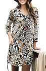Ladies UK Plus Size 20 - 38 Stretchy Long Tunic Top