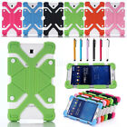 """Shockproof Adjustable Silicone Gel Protect Case Cover For Various 7""""- 8"""" Tablets"""