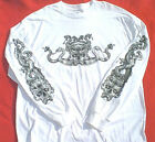 ZigZags AMERICAN MotorCycle Long Sleeve T-Shirt Skull Snakes CLEARANCE was $23