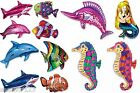 Sea Bed Creatures mixed helium Foil Balloon supershapes