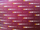 Perry Ellis Burgundy Red with Small Cream Squares #210