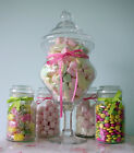 Внешний вид - Glass Apothecary Candy Jar Buffet Table Centerpiece
