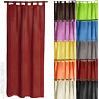 Semi Transparent Curtain with Loops Decoration Living Room Home Translucent