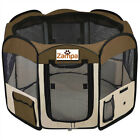 "45"" Pet Playpen Portable Exercise Kennel For Dos /Cat /Puppy Foldable"