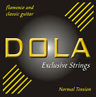 DOLA Exclusive Strings - Gitarrensaiten Klassik/Flamenco - Nylon - Normal/Hard