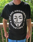 Anonymous mask Legion  t shirt  ANON 4Chan