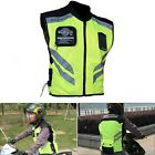 MIL SPEC Motorcycle Riding Safety Gear Visibility Reflective Vest Jacket 4 Sizes