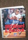 1992 NATIONAL FOOTBALL LEAGUE RECORD & FACT BOOK NFL - REDSKIN RYPIEN ON COVER