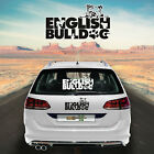 Car Sticker Sticker Car Foil Car Lettering English Bulldog