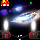 1 Pair 9004 HB1 White Philips 160W 16000LM LED Headlight Kit High Low Beam Bulbs