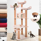 Cat Kitten Scratching Post Tree Bed Toy Tower Scratcher Activity Centre 152cm