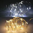 2M String Fairy Light 20 LED Battery Operated Xmas Lights Party Wedding White