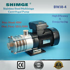 Shimge Stainless Steel MultiStage Centrifugal Pressure Pump BWJ8-4 NO POWER LEAD