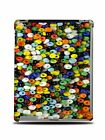 BEADS BUTTON WALLPAPER HARD BACK CASE COVER FOR APPLE iPAD 2 / 3 / 4