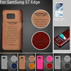 Wallet Card Holder Leather Back Case Cover Skin for Samsung Galaxy S6 S7 & Edge