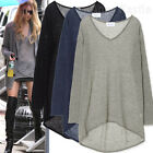 AnnaKastle New Womens See Through Mohair Knit Long Top Tunic size S - M