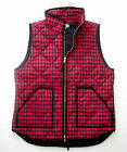 NWT J. Crew Factory Novelty Excursion Quilted Puffer Down Vest
