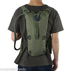 backpack with water pouch - Lightweight 3L Water Canteen Pouch knapsack with Drinking Hose 3L Backpack