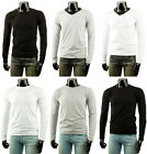 New Mens Stylish Long-Sleeve Cotton T-Shirt Collection.