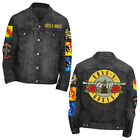 Guns N Roses Cross Logo Denim Jacket  New  Official Item