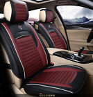 Car Seat Cover Front Cushion Cover Four Seasons PU Leather Fit for all car